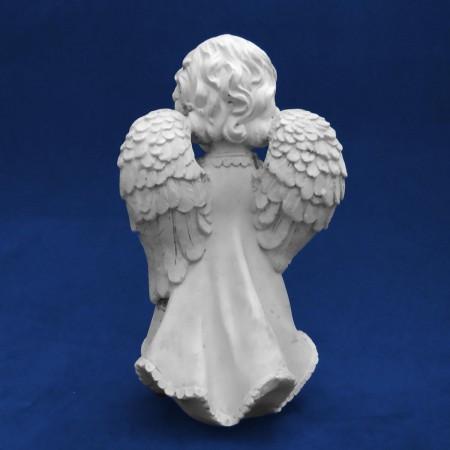 Divino Espírito Santo Liso em gesso cru Imagem 6x5cm