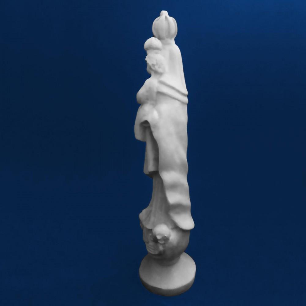 Imagem Sagrado Coração de Jesus Gesso Cru 21cm