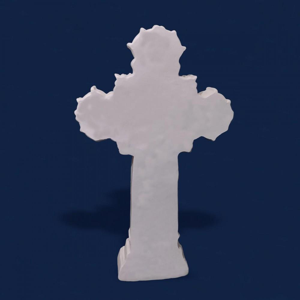 Busto Sagrado Coração de Jesus Gesso Cru 15cm